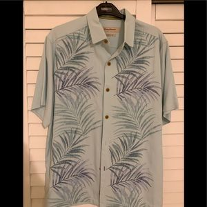 Tommy Bahama Men's silk shirt sleeve shirt